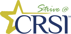 CRSI Strive logo